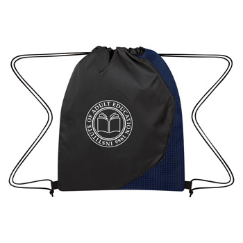 Grid Drawstring Sports Pack