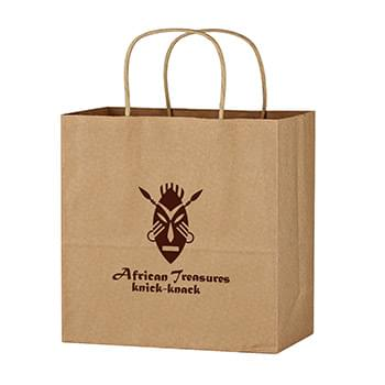 "Kraft Paper Brown Wine Bag - 13"" x 13"""
