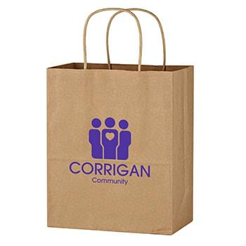 "Kraft Paper Brown Wine Bag - 13"" x 17"""