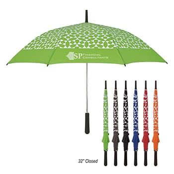 "46"" Arc Geometric Umbrella"