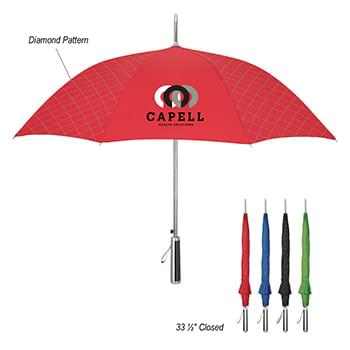 "46"" Arc Dripping Diamonds Umbrella"