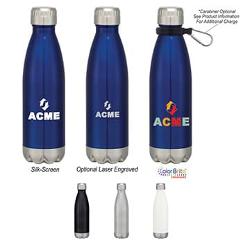 16 OZ. Swiggy Bottle With Antimicrobial Additive