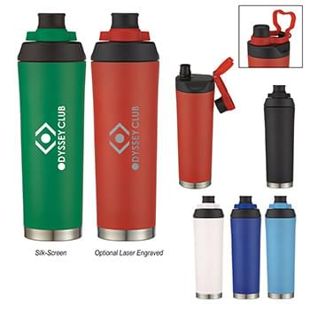 22 Oz. Davenport Stainless Steel Bottle