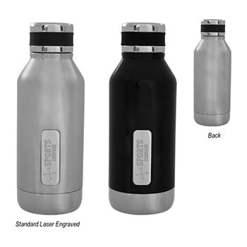 16 Oz. Caffrey Stainless Steel Bottle