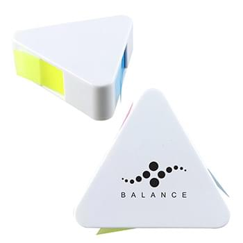 Sticky Notes In Triangle Case