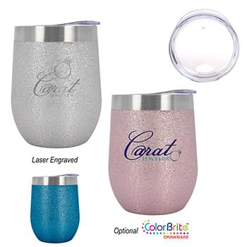 12 Oz. Iced Out Vinay Stemless Wine Cup
