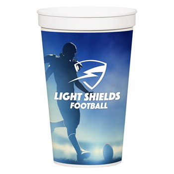 32 Oz. Full Color Stadium Cup