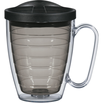 16 Oz. Double Wall Mug With Handle