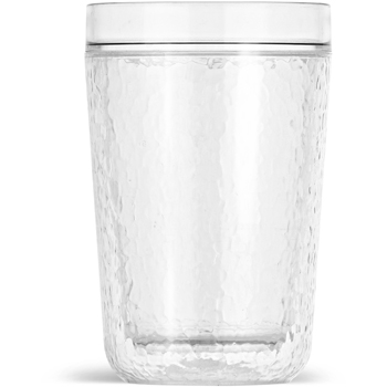 16 Oz. ThermoServ Hammered Tumbler