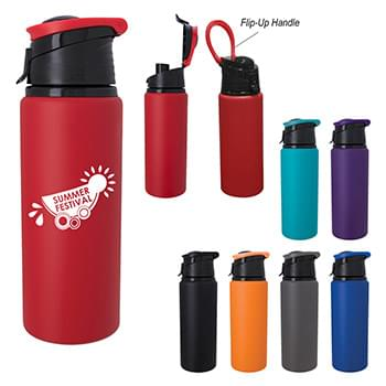 24 Oz. Velvet Touch Aluminum Bottle