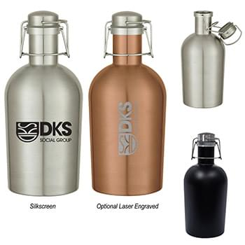 64 Oz. Stainless Steel Growler
