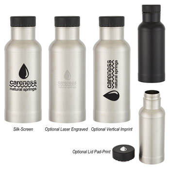 64 Oz. Endeavor Stainless Steel Growler