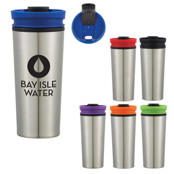 17 Oz. Color Stopper Travel Tumbler