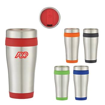 15 Oz. Stainless Steel Aspen Tumbler