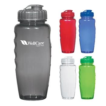 Poly-Clear™ 30 Oz. Gripper Bottle