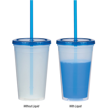 16 Oz. Econo Color Changing Tumbler