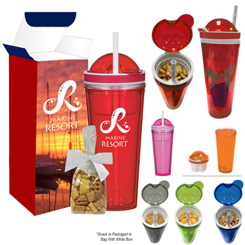 Snack Attack Tumbler With Stuffer And Custom Box