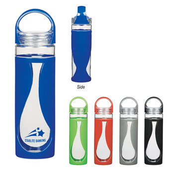 17 Oz. Glass Teardrop Bottle