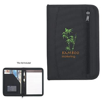 Zip-Up Small Traveler Portfolio