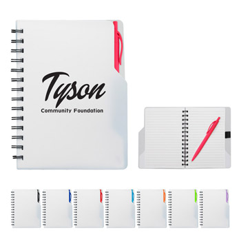 Mission Spiral Notebook With Pen