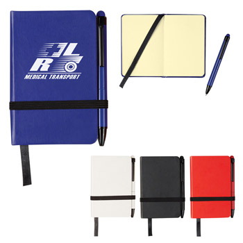 Mini Journal With Matching Stylus Pen