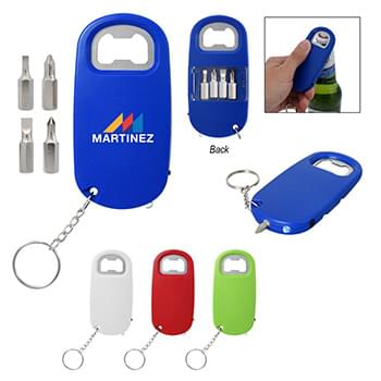 3-In-1 Screwdriver With Bottle Opener