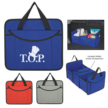 Non-Woven Trunk Organizer With Kooler
