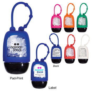 1 Oz. Hand Sanitizer With Colored Moisture Beads