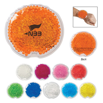 Small Round Gel Beads Hot/Cold Pack