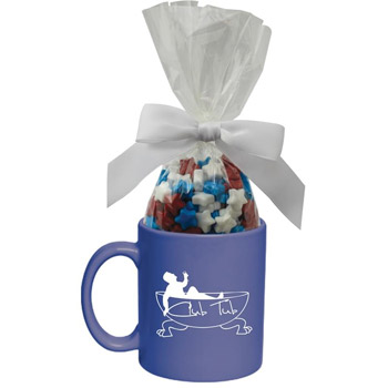 Ceramic Mug with Candy - Starlite Mints