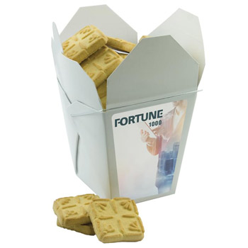 Fortune Cookie Box - Short Bread Cookies