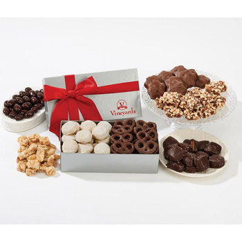 The Executive Gift Box - Sea Salt Caramels & Peanut Crunch Squares