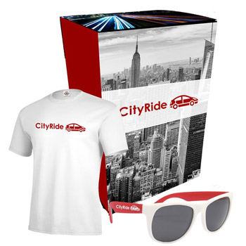 Delta® T-Shirt And Sunglasses Combo Set With Custom Box