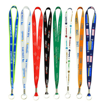 "Full Color Imprint Smooth Dye Sublimation Lanyard - 1"" x 36"""