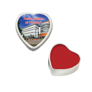 Lip Moisturizer Heart Tin