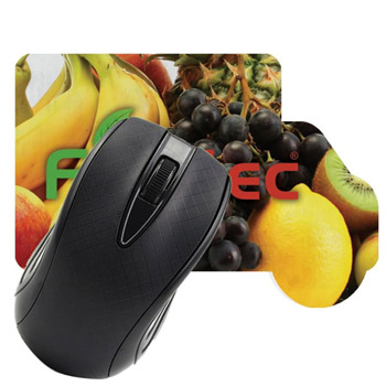 Truck Shaped Dye Sublimated Computer Mouse Pad