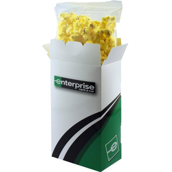 Popcorn Box with Butter or Cheese Popcorn