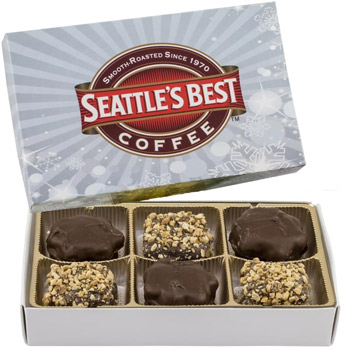 Rectangle Custom Candy Box with Turtles and Buttercrunch