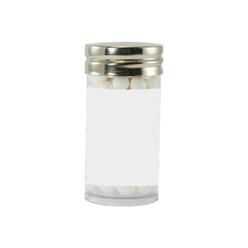 Gourmet Plastic Tube (Small) with Signature Peppermints