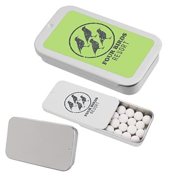 Signature Peppermints In Slider Tin