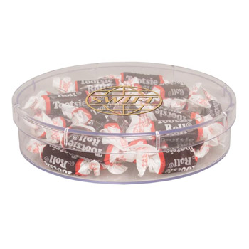 Large Round Show Piece -  Starlite Mints, Jolly Ranchers, Tootsie Rolls