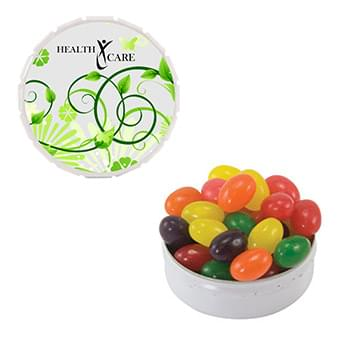 Snap Top Tin (Large) Jelly Beans, Chicles Gum