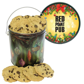 One Gallon Cookie Tin