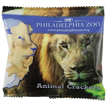 Zaga Snack Wide Promo Pack Bag - Pretzel Snaps, Animal Crackers, Peanuts In Shell