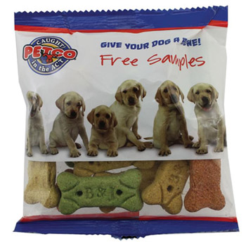 Zaga Snack Wide Promo Pack Bag - Dog Bones, Chex Mix
